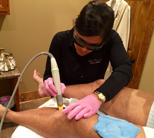 Da Vinci Foot and Ankle Laser Treatments