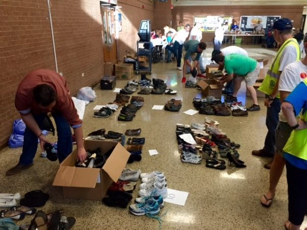 Shoe drive to benefit those in need in the Houston area