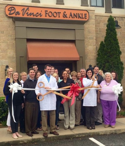 Da Vinci Foot and Ankle: Ribbon Cutting April 2016