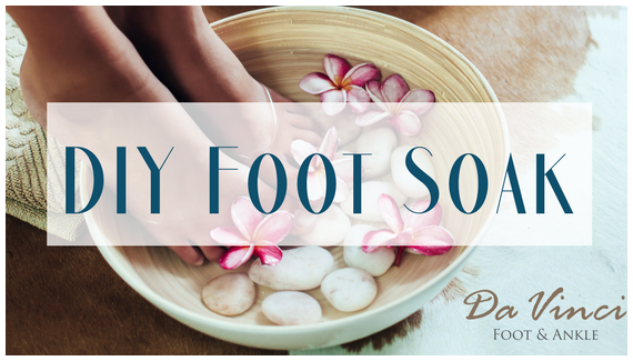 DIY Foot Soak for Sore and Achy Feet