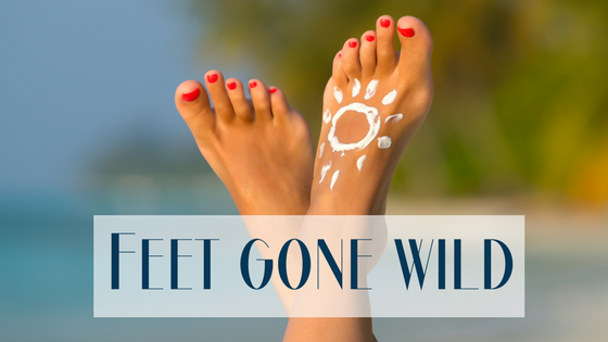 Feet Gone Wild: Spring Break Foot Tips and Hazards