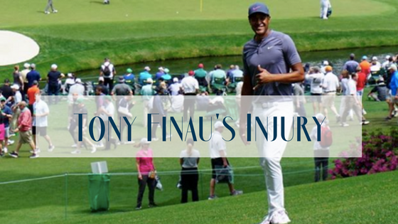 Tony Finau's Celebration Nightmare