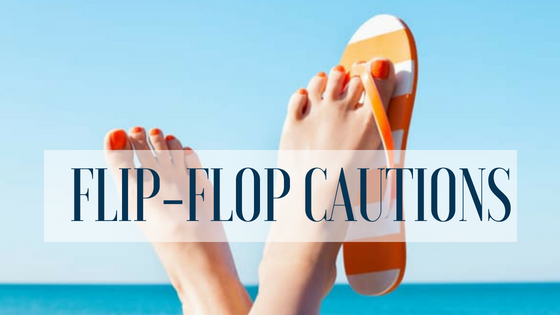 Dangers of Flip-Flops: America's Favorite Summer Shoe