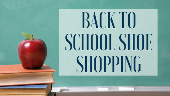 Back to School Foot Health – Guidelines for new shoes