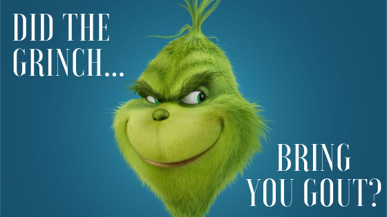 Did the Grinch Bring You Gout?
