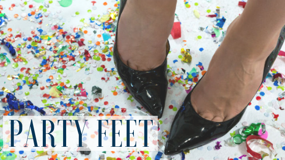5 Ways to Party Proof Your Feet