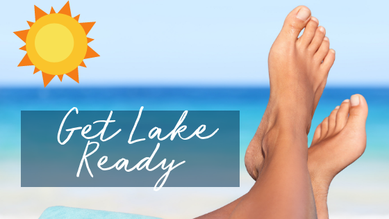 Get Ready For the Lake – Laser for Toenail Fungus