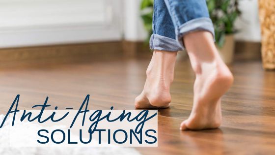 Aging and Your Feet – 4 Problems and Our Solutions