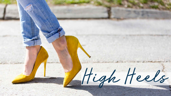 Heel Wearers – Tips for the High Heel Lover