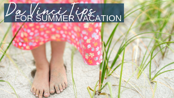Summer Vacation Hazards and Da Vinci Tips
