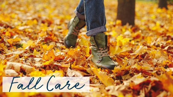 6 Foot Care Tips for Fall