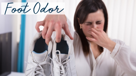 Combat Fall Foot Odor Fast