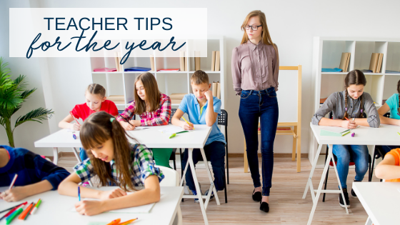 Know a Teacher? Are a Teacher? Here are our Tips for the School Year